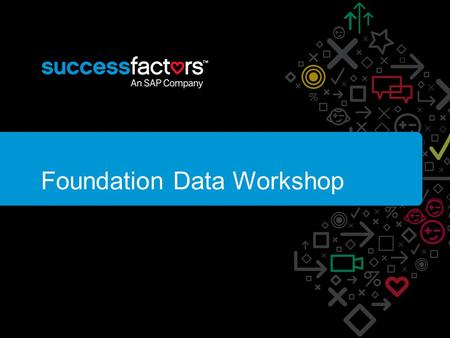 Foundation Data Workshop