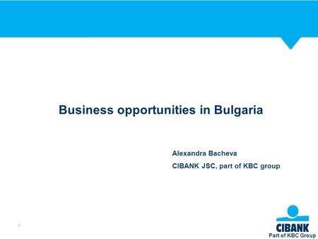 Business opportunities in Bulgaria