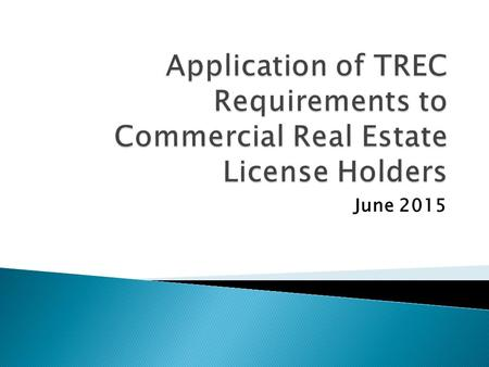 June 2015. TRECCCIM  May not discriminate on basis of protected class  May not steer  May not inquire about, respond to or facilitate inquiries which.