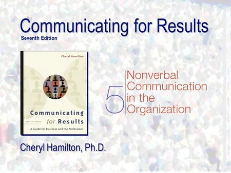 Communicating for Results Seventh Edition