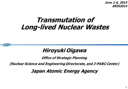 Transmutation of Long-lived Nuclear Wastes