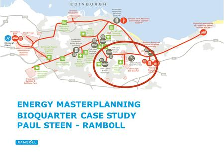 Title slide ENERGY MASTERPLANNING BIOQUARTER CASE STUDY PAUL STEEN - RAMBOLL.