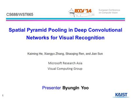 Spatial Pyramid Pooling in Deep Convolutional