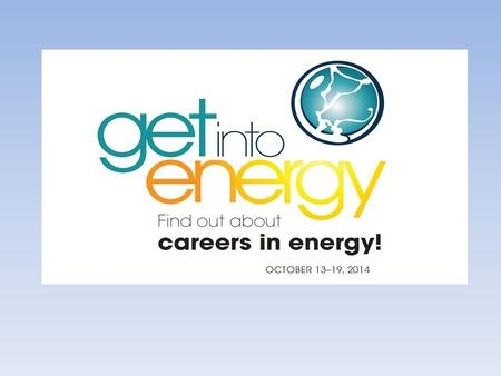 What's behind the amazing light show and the booming wall of sound? Energy. Energy is all around us but have you ever considered a career in energy?