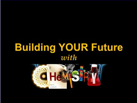 Building YOUR Future with. Chemistry Department, UWI One of the largest Departments at UWI –Started in 1948 –Over 800 undergrads & 40 postgraduates –Over.