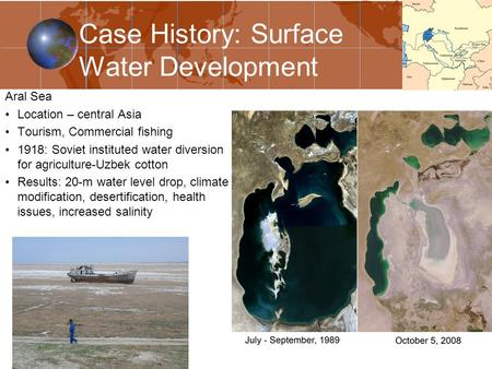 an introduction to the history of the aral sea