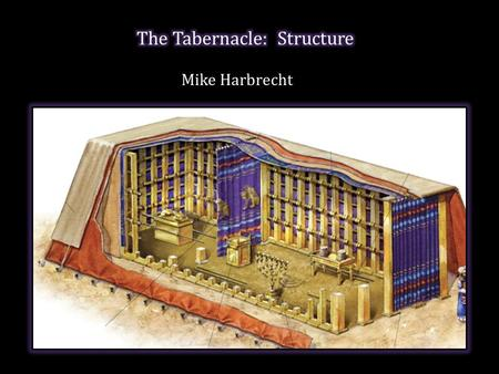 Mike Harbrecht. The plan of the temple was revealed by God to the king which must be followed carefully. 1 1.