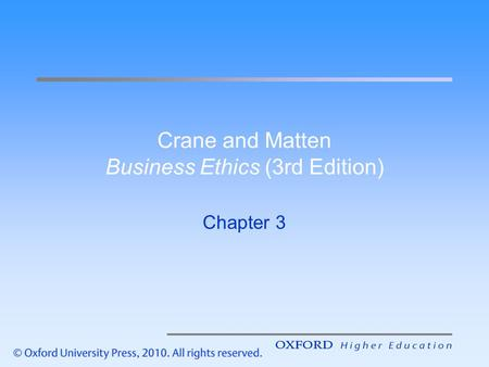 Chapter one moral reasons ppt video online download crane and matten business ethics 3rd edition fandeluxe Choice Image