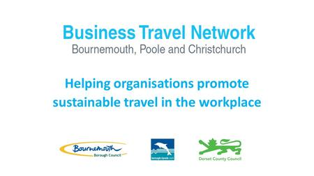 Helping organisations promote sustainable travel in the workplace.