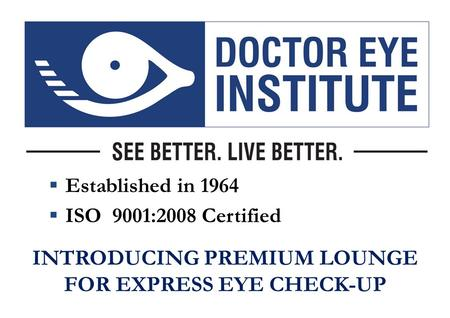  Established in 1964  ISO 9001:2008 Certified INTRODUCING PREMIUM LOUNGE FOR EXPRESS EYE CHECK-UP.