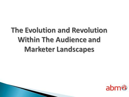 Changing Landscapes The New Role of Influencers Why Unified Databases Customer Personas Audience/Marketer Insights How Can We Help You Succeed?
