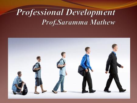Professional Development Enrichment training provided to teachers over a period of time to promote their development in all aspects of content and pedagogy.
