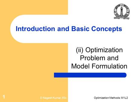 Introduction and Basic Concepts