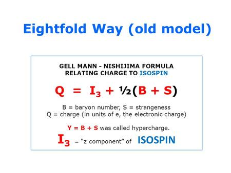 Eightfold Way (old model)