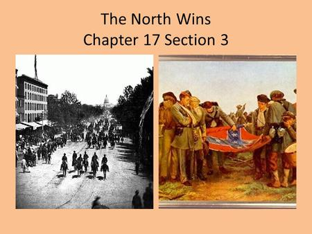 The North Wins Chapter 17 Section 3. The Battle of Gettysburg July 1-3, 1863 General Lee invades the North with 75,000 Confederate troops. General Meade.