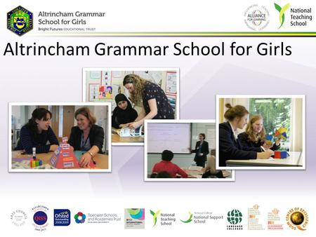 Altrincham Grammar School for Girls. Year 12 Higher Education Evening 26 th February 2015 What Parents and Students Need to Know for a Successful Higher.