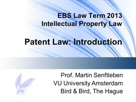 Nd Annual Intellectual Property Law Conference
