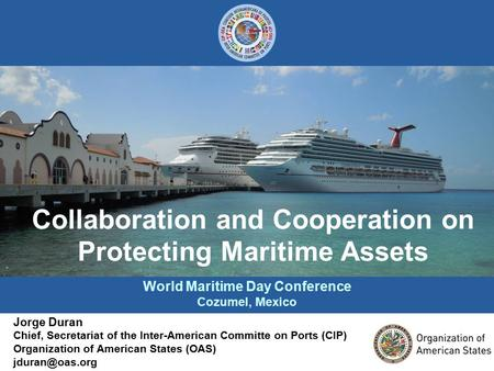 World Maritime Day Conference