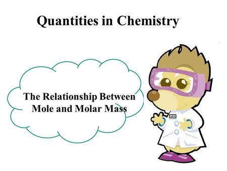 relationship between molecular weight and volume