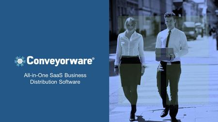 All-in-One SaaS Business Distribution Software. Welcome: Proven, secure, cloud-based fully integrated suite Powerfully manage one stock room or dozens.