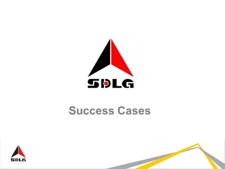Success Cases. Asiandina Chile - Constructora Visol (2 x LG958L) Customer: Application: Movement of sand and gravel In the beginning in support activities,