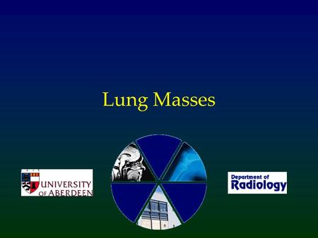 Lung Masses.