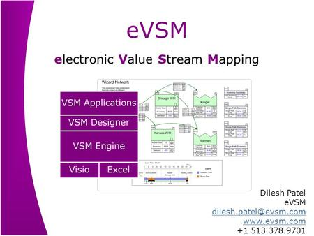 electronic Value Stream Mapping