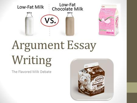Argument Essay Writing