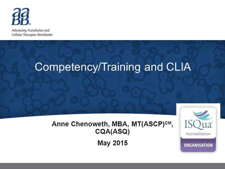 Competency/Training and CLIA