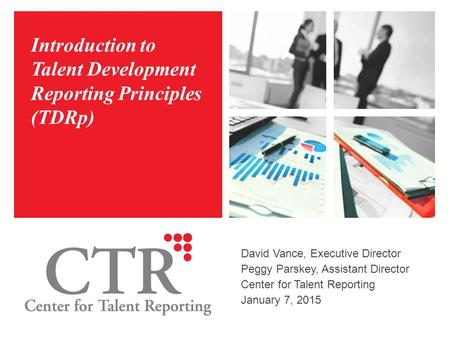 Introduction to Talent Development Reporting Principles (TDRp)