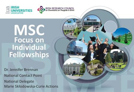 MSC Focus on Individual Fellowships