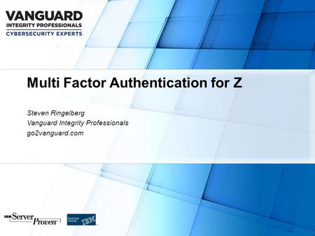 Multi Factor Authentication for Z