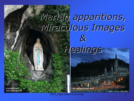 D9.3_Mary Line 5 Outcomes1 Marian apparitions, Miraculous Images & Healings Free wallpaper image from