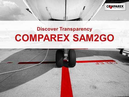 Discover Transparency COMPAREX SAM2GO