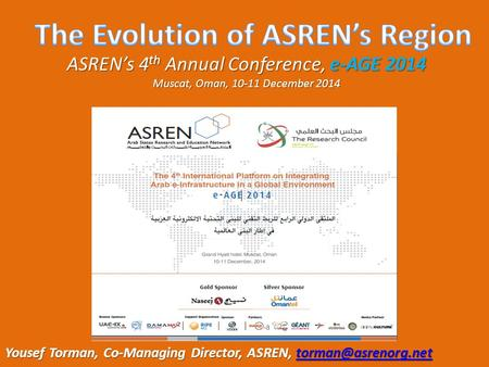 The Evolution of ASREN's Region