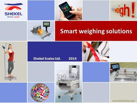 Smart weighing solutions