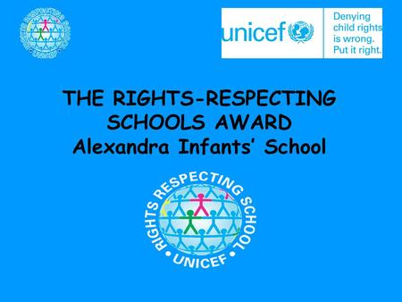 THE RIGHTS-RESPECTING Alexandra Infants' School