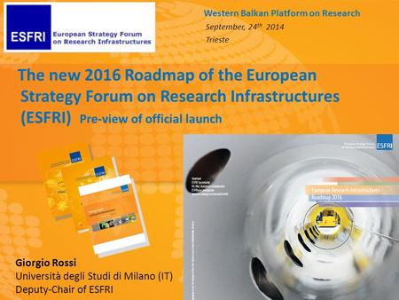 Research Infrastructures Roadmap 2010