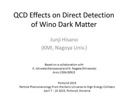 QCD Effects on Direct Detection of Wino Dark Matter
