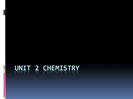 Unit 2 Over View  2.1 The Atom  2.2 The Periodic Table  2.3 Elements  2.4 Chemical Bonding.