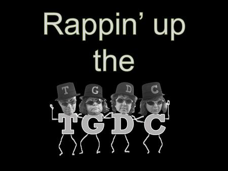 Rappin' up the tgdc TGDC Update GREEN CHECK MADNESS! November 19, 2014.