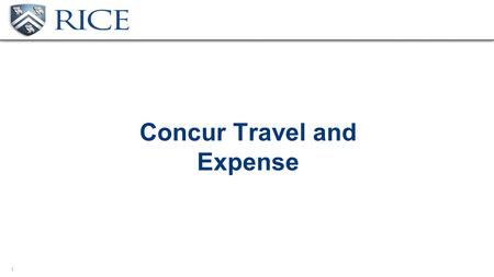 1 Concur Travel and Expense. 2 Benefit to Faculty Concur is a web-based travel booking and expense reporting software tool Electronic receipts Mobile.