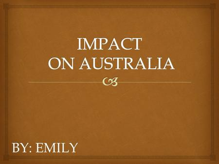 BY: EMILY.  By the late 1840s the situation had changed. The English Government, was now worried about the security of Australia, and was trying to increase.