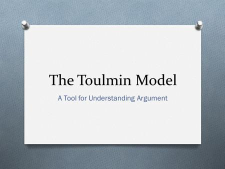 A Tool for Understanding Argument