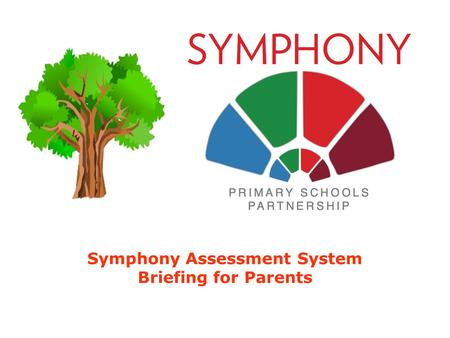 Symphony Assessment System Briefing for Parents. Symphony Assessment System Assessment is Changingwww.symphonyassessment.weebly.com.