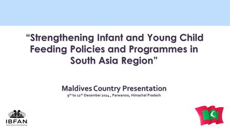 Maldives Country Presentation