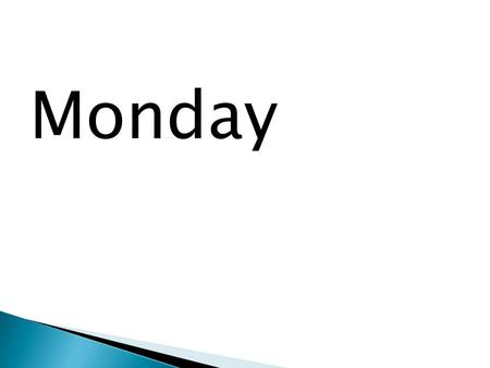 Monday. 1. What do you hope to get out of having an AVID mentor teacher? 2. What will YOU do to take responsibility for meeting once a month and maintaining.
