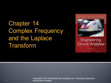 Complex Frequency and the Laplace Transform