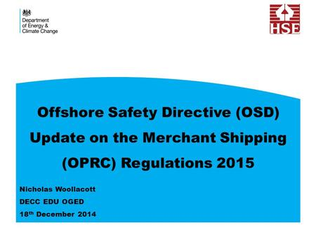 Offshore Safety Directive (OSD)