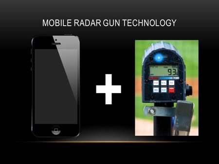 MOBILE RADAR GUN TECHNOLOGY +. INTRODUCTION How it works Uses of our product Pricing Website.